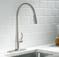 Beautiful Kohler Simplice Pull Down Kitchen Faucet