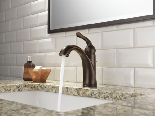 Delta 538T-RB-DST Lahara Single Handle Lavatory Faucet with Touch2O Technology