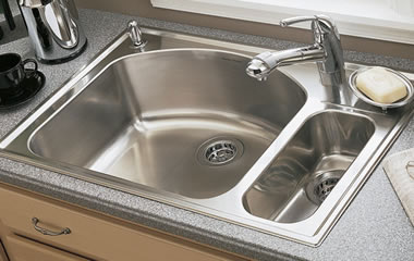 American Standard Culinaire Drop-In Kitchen Sink