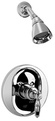 Graff G-7100-LM10S-PC Pesaro Transitional Pressure Balance Shower Set