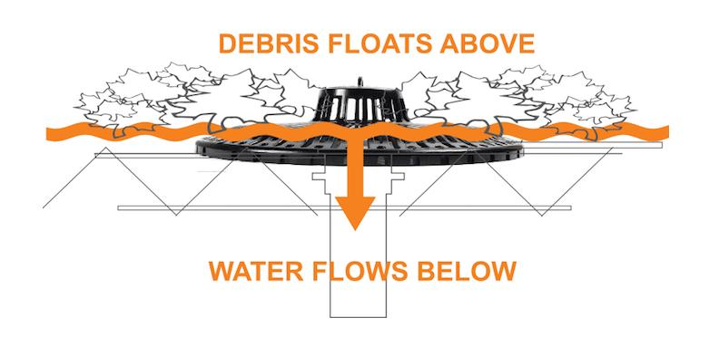 Debris Floats Above