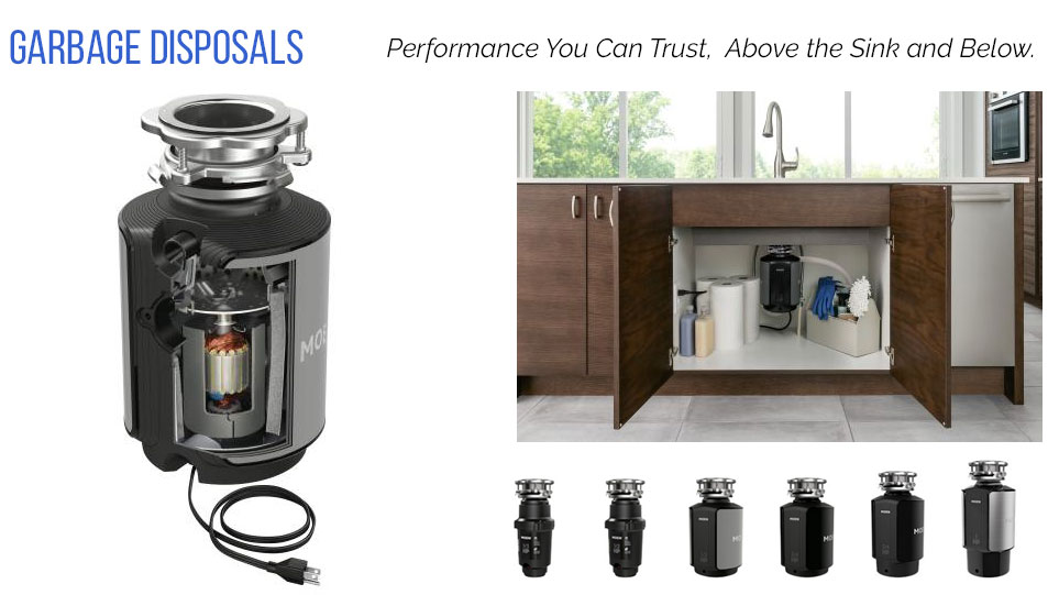 Moen Garbage Disposals