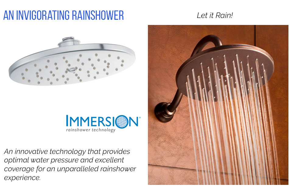 Moen Immersion Showers