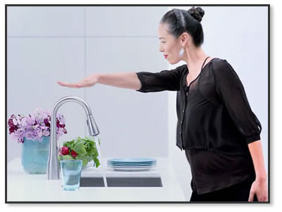 Moen Motionsense Faucets at FaucetDepot.com
