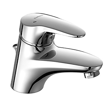KWC 0109.2273.0017 Hansamix Basin Single Lever Mixer - Polished Chrome