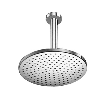 KWC 0419.0100.0017 Hansarain Ceiling Mount Shower Head with Arm - Polished Chrome