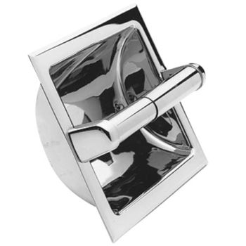 Newport Brass 10-89-26D Recessed Tissue Holder - Satin Chrome (Pictured in Polished Chrome)