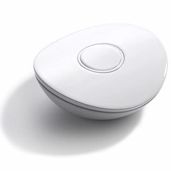Mr. Steam iGenie Remote Control with Interface Module & Magnetic Docking Port - White