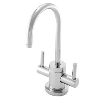 Newport Brass 106-15S Hot & Cold Water Dispenser Faucet Only - Satin Nickel (Pictured in Polished Chrome)