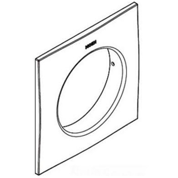 Moen 155649bn Square Trim Ring Brushed Nickel
