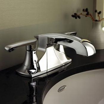American Standard 7005.201.002 Copeland Two Handle Centerset Lavatory Faucet - Polished Chrome