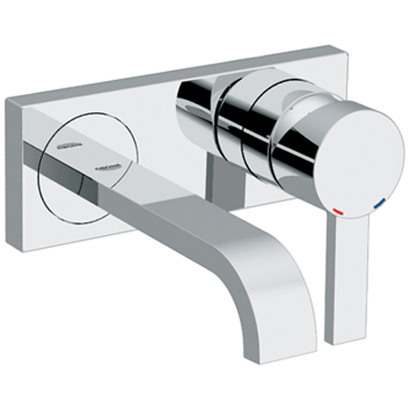 Grohe 19.300.000 Allure Single Handle Wall Mount Vessel Lavatory Faucet Trim Only - Chrome