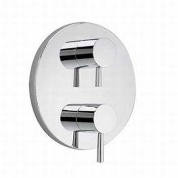 American Standard T064.740.002 Serin Two Handle Thermonstat Trim Kit - Polished Chrome