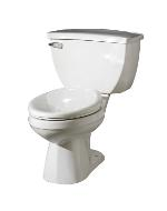Gerber 21-300 Ultra Flush Pressure Assist Toilet with Round Front 10