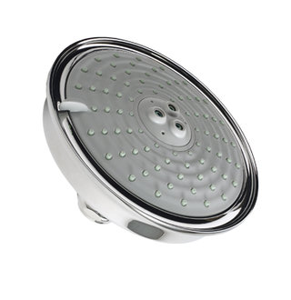 Newport Brass 2144-15S Traditional Multi-Function Showerhead - Satin Nickel (Pictured in Polished Chrome)
