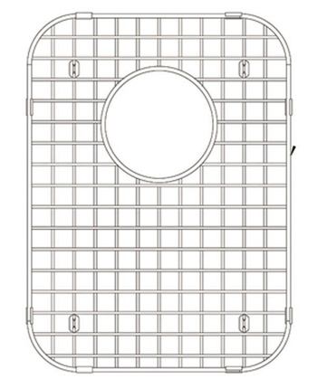 Blanco 227267 Spex II 1.75 Large Bowl Sink Grid - Stainless Steel