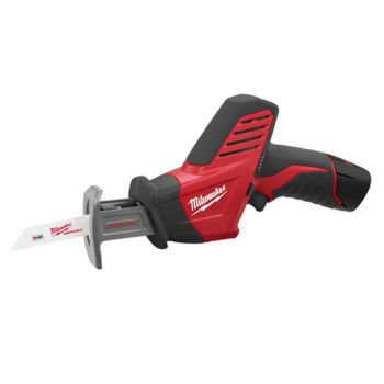 Milwaukee 2420-22 M12 Hackzall Reciprocating Saw Kit with 2 Batteries