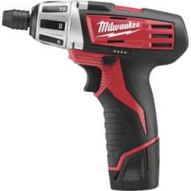 Milwaukee 2401-22 M12 Cordless Screwdriver Kit