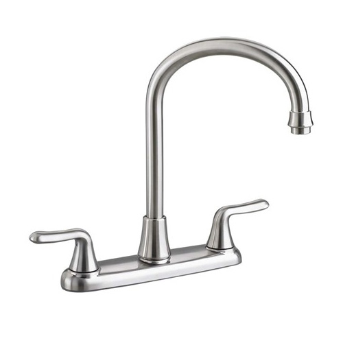 American Standard 4275.550.075 Colony Soft Gooseneck Kitchen Faucet - Stainless Steel