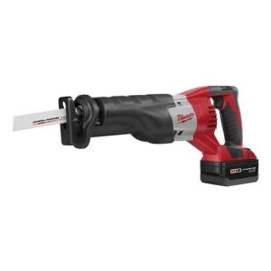 Milwaukee 2620-22 M18 Cordless Sawzall Reciprocating Saw Tool Kit with 2 Batteries