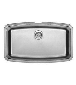 Blanco 440104 Performa Super Single Bowl Undermount Kitchen Sink Stainless Steel