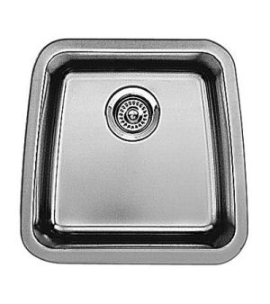 Blanco 440105 Performa Small Bowl Undermount Bar Sink - Stainless Steel