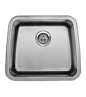 Blanco 440106 Performa Medium Single Bowl Undermount Kitchen Sink - Stainless Steel