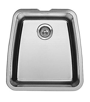 Blanco 440107 Performa Large Single Bowl Undermount Kitchen Sink - Stainless Steel