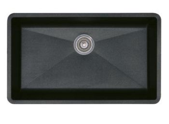 Blanco 440149 Precis Super Single Bowl Undermount Silgranit Kitchen Sink - Anthracite