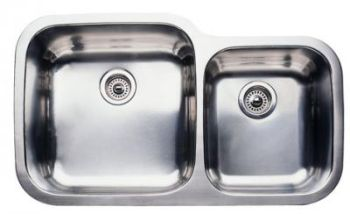 Blanco 440157 Blancosupreme Super 1-3/4 Bowl Undermount Kitchen Sink - Stainless Steel