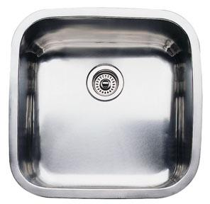 Blanco 440158 Blancosupreme Super Single Bowl Undermount Kitchen Sink - Stainless Steel