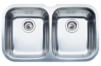 Blanco 440160 Blanconiagara 2 One-Piece Undermount Kitchen Sink - Stainless Steel