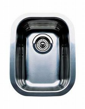 Blanco 440165 Blancowave Plus Single Bowl Undermount Kitchen Sink - Stainless Steel