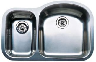 Blanco 440168 Blancowave Plus One-Piece Undermount Kitchen Sink - Stainless Steel