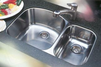 Blanco 440169 Blancowave Plus One-Piece Undermount Kitchen Sink - Stainless Steel