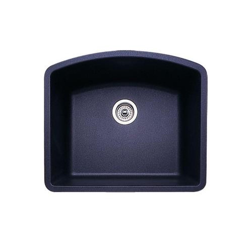 Blanco 440174 Diamond Single Bowl Silgranit II Undermount Kitchen Sink - Anthracite