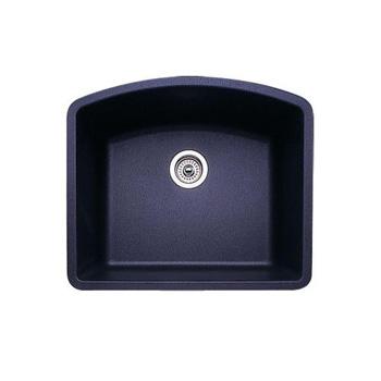 Blanco 440173 Diamond Single Bowl Silgranit II Undermount Kitchen Sink    Metalli.
