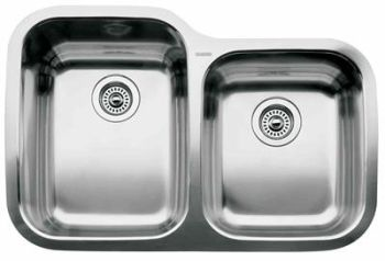 Blanco 440236 Blancosupreme 1-3/4 Bowl Undermount Kitchen Sink - Stainless Steel
