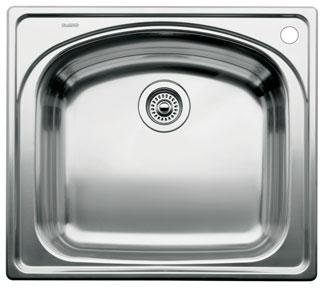 Blanco 440250 Blancowave Drop-In Kitchen Sink - Stainless Steel