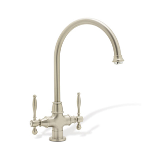 Blanco 440583 Essence Two Handle Kitchen Faucet - Satin Nickel