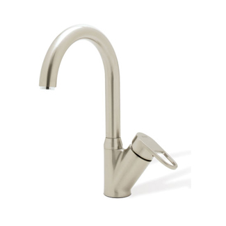 Blanco 440590 Neo Rados Single-Handle Kitchen Faucet - Satin Nickel