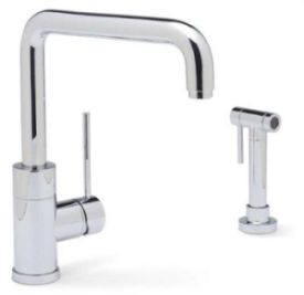 Blanco 440603 Purus I Single-Handle Kitchen Faucet w/ Side Spray - Chrome