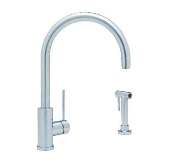 Blanco 440606 Purus II Single-Handle Kitchen Faucet w/ Side Spray - Satin Nickel
