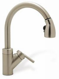 Blanco 440616 Rados Single-Handle Kitchen Faucet - Satin Nickel