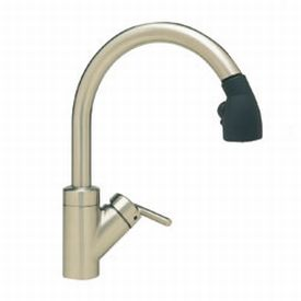 Blanco 440617 Rados Single-Handle Kitchen Faucet - Satin Nickel