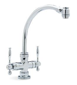 Blanco 440629 Medallion Two-Handle Kitchen Faucet - Chrome