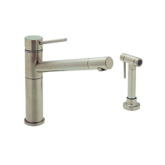 Blanco 440665 Alta Kitchen Faucet with Metal Side Spray - Satin Nickel