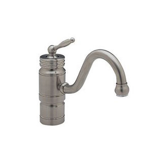 Blanco 440709 Harvest Single Handle Faucet - Satin Nickel