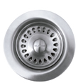 Blanco 441098 Silgranit II Coordinated Sink Waste Disposer Stopper & Strainer - Stainless Steel