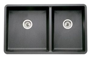 Blanco 441128 Precis 1-3/4 16'' Undermount Kitchen Sink - Anthracite